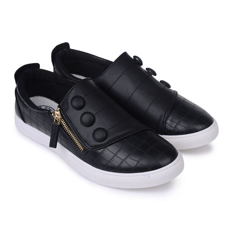 Sneakers Men 2015 Brand Mens Shoes Casual Slip On Men Sport Shoes PU Leather Mens Sneakers Mens Huraches Zapatillas Deportivas