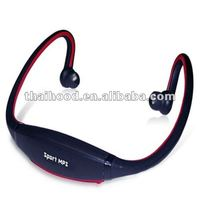 Headset mp3 digital player Wireless mp3 music player