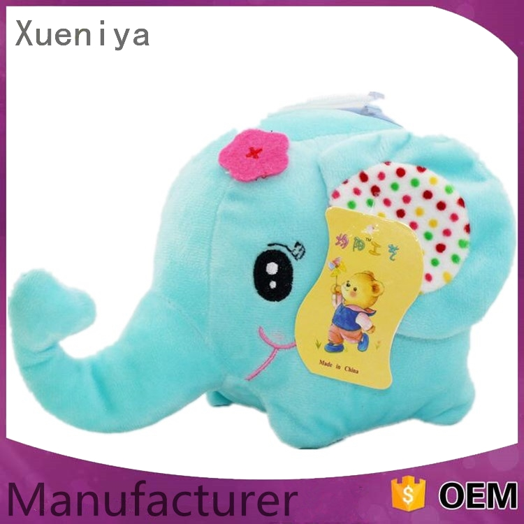 eco-friendly factory comfortable wholesale elephant plush pillow