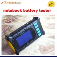 Digital Portable universal laptop battery tester with charge & discharge,small currents activation,battery data checking