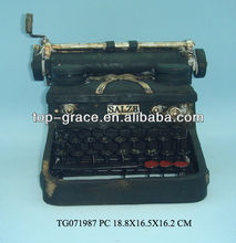 polyresin typewriter antique gifts for baby toy