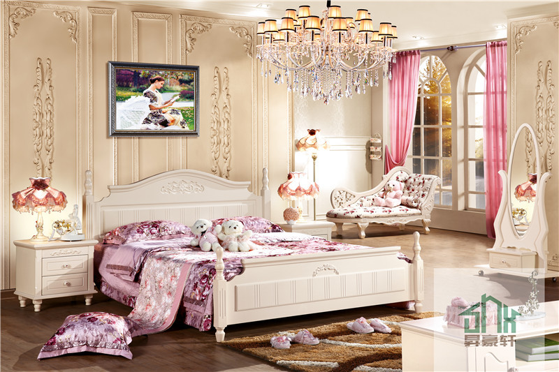 Fancy bedroom home design for Fancy girl bedroom ideas
