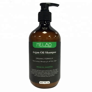 Melao natural wholesale argan oil shampoo 473ml