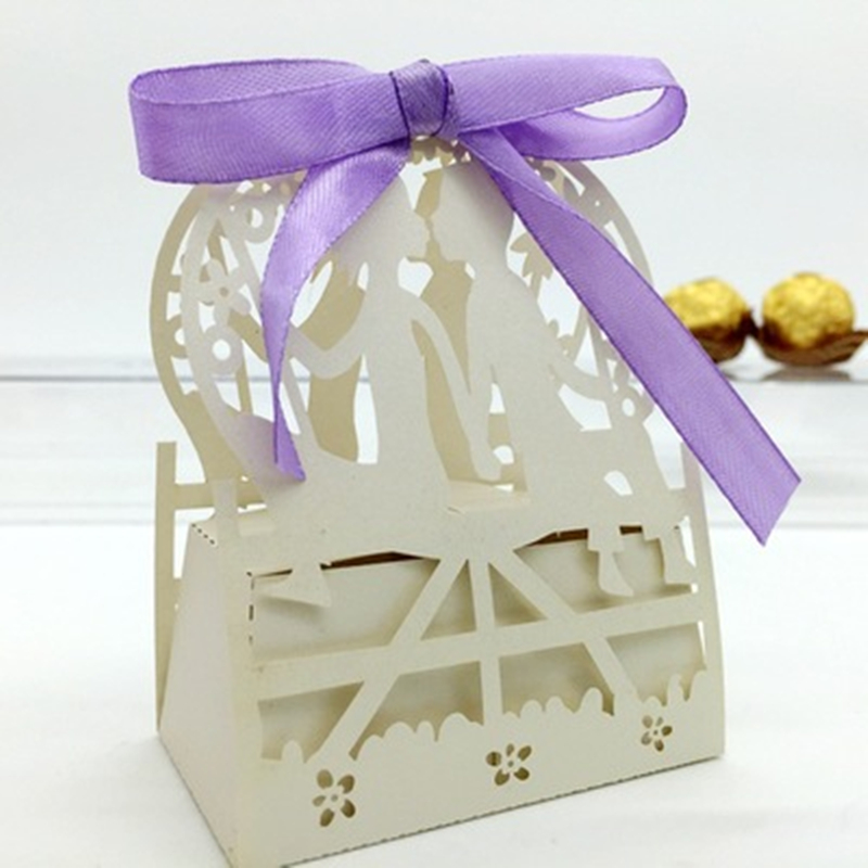 Industrial use and paper material Laser cut gift box