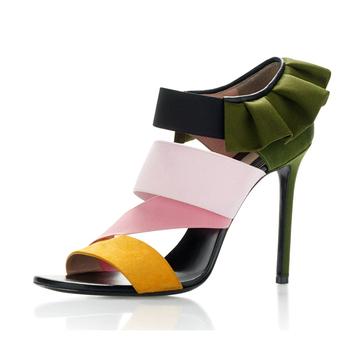 2018 Nouvelle Tendance Mode Femmes Talon Sandale Chaussure À Dongguan , Buy  Chaussure Femme,Chaussures Femme Talon,Sandale Chaussure Product on