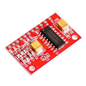 2018 new Mini Digital Power Amplifiers Red PAM8403 3W Dual Track for uno r3