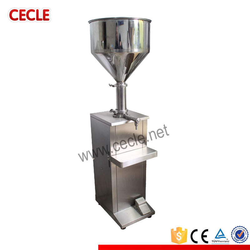 FF4-1000 semi automatic deodorant filling machine