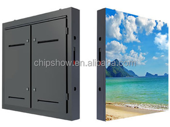 Waterproof advertising P8 outdoor full color modular led tv panel
