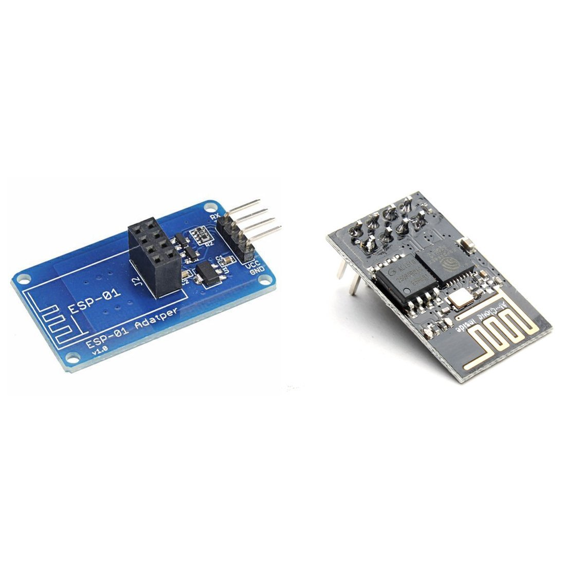 BephaMart ESP8266 ESP-01 WIFI Transceiver Wireless Module + Serial Wi-Fi Wireless Adapter Module For Arduino Shipped and Sold by BephaMart