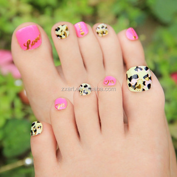 Painting Stickers Toe Nail Stickers Cutter Patterns Nail Toe Sticker ...
