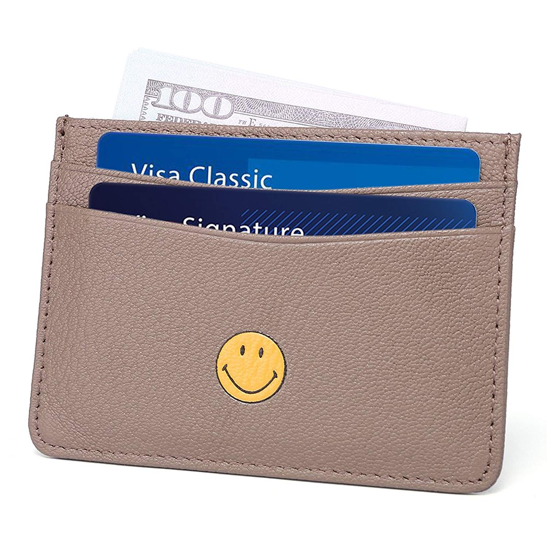 4be2a8062bc Slim Wallet RFID Front Pocket Wallet Minimalist Secure Thin Credit Card  Holder