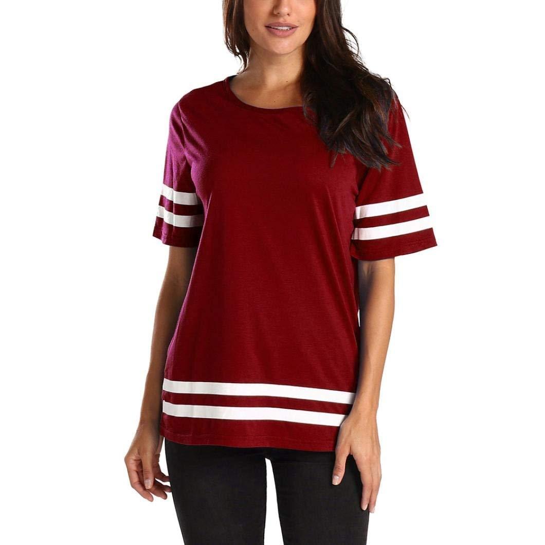 Leedford Causal T-Shirts,Women Casual Printing T-Shirt Sleeveless Vest Tank Tunic Tops Blouse