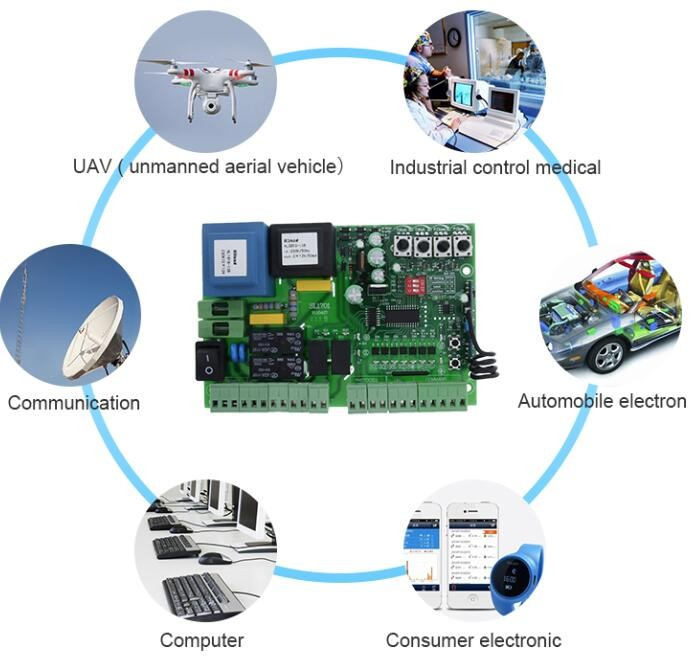 china supplier oem 12 layer pcba electronic production circuit board