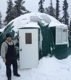 Windproof and earthquake-proof prefab dome house for mining