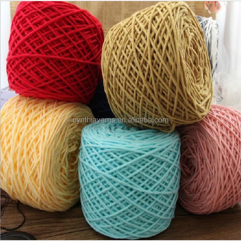 100 acrylique crochet coton gros fil pour tricot la main fil coton recycl id de produit. Black Bedroom Furniture Sets. Home Design Ideas