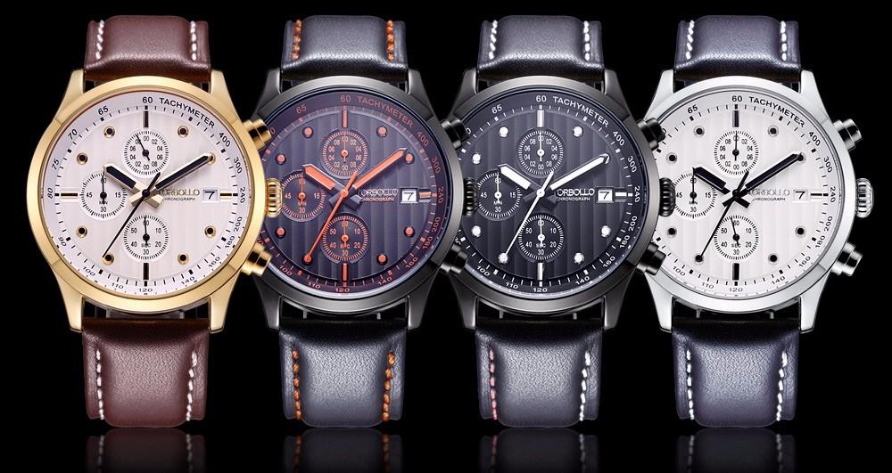 Uhr Nylon nylon Original Echtem Männer Buy Chronograph WasserdichtFreies Torbollo Leder 3atm Armbanduhr Hohe Band Qualität Schwarz Schwarz Quarz rhdtsQC