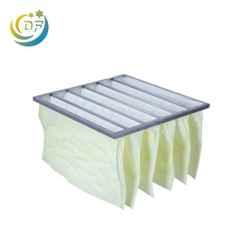 EN779 Durable Synthetic Fibre F8 Air Filter Pocket Air Filter Bag Filter