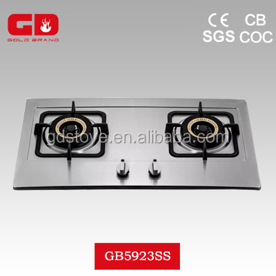 granite ware stock pot on glass cooktop