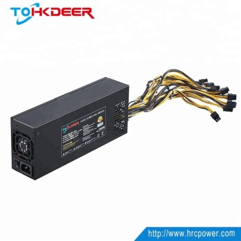 HRCPOWER wholesale 1000w 1200w 1300w 1600w 1800w 2000w 2400w 2800w 1u psu with good quality