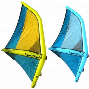 Inflatable windsurfing sail for all ages beginner wind surf