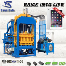 QT4-15C High Pressure Fly and Ash Brick Making Machine for Sale