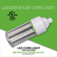 15 Watt G24 2 Pins LED Lamp / G24 4 Pins LED PL Bulb with UL cUL