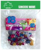 Wholesale Birthday Party Colorful 18 Shape Pet Confetti