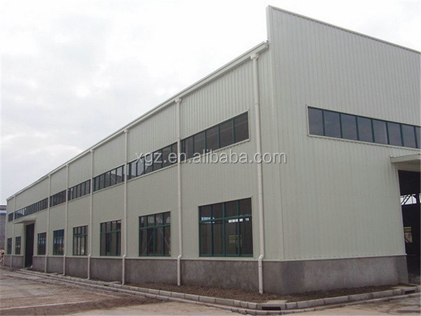 high rise insulated famous steel structure workshop