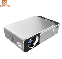 New Design T6 Wireless WIFI Mini Portable Projector 3500lms 1280*720 Full HD LED Home Cinema Miracast/Airplay Projector UC46+