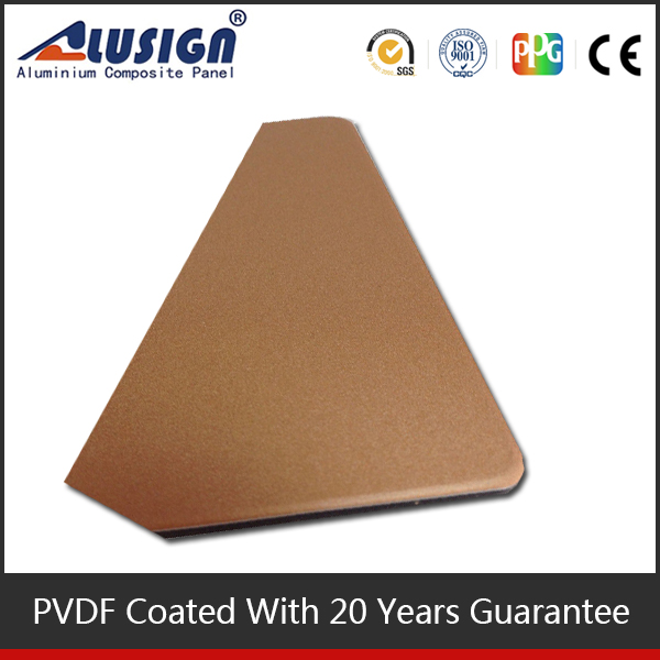 Alusign environmental and safe smell material hot sell acp aluminum strip ceiling