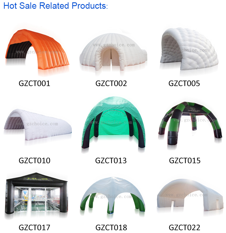 Guangzhou CHOICE White Inflatable Tent Outdoor Inflatable Wedding Party Tent Inflatable Dome Tent