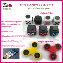 2017 Best Fidget Toy Anti-Stress Toy Fidget Cube and Fidget Spinner In Stock
