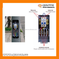 Factory Supply Outdoor Electrical Power Junction Switch Box for Street Lamp