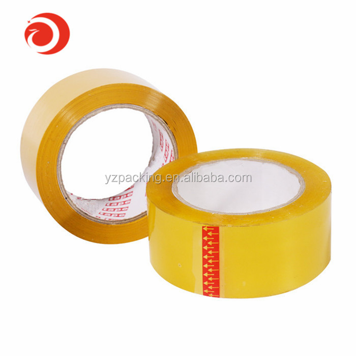 Bopp packing clear adhesive tape <strong>roll</strong>/Bopp Packing Tape logo printed adhesive tape