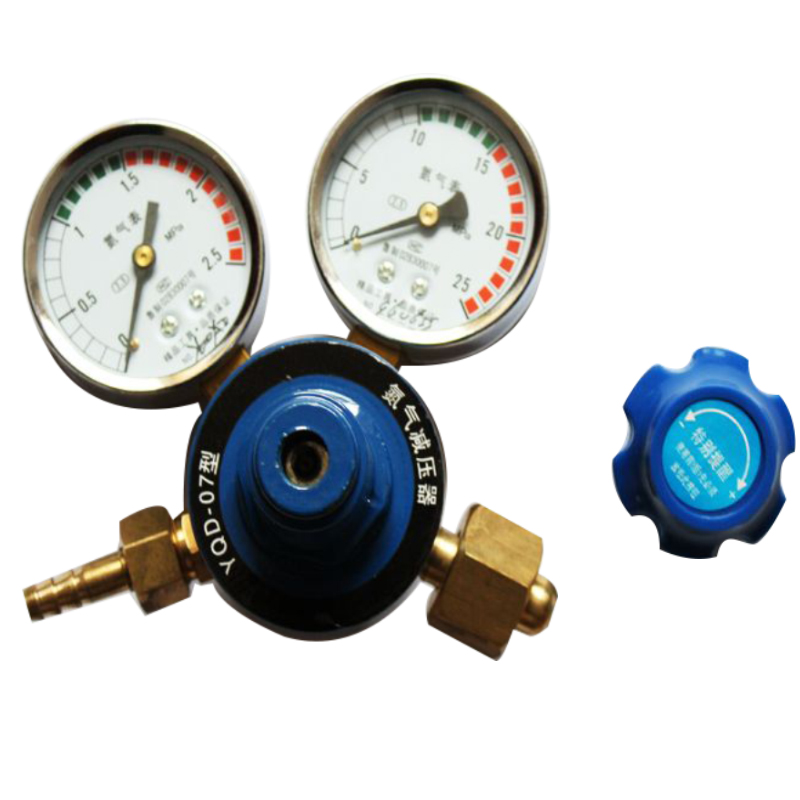 Victor type flowmeter nitrogen regulator