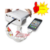 Hot sell Handheld mini LCD pocket projector for Iphone home portable hd mini projector