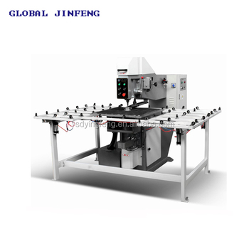 JFO-2 Horizontal Semi-automatic Glass drilling machine for glass with CE good price