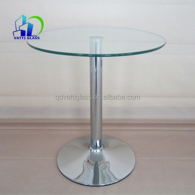 Table Bases For Glass Dining Tops,glass Top Rotating Dining Table,12mm  Thick Tempered