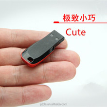 logo printing color red whistle USB Flash memory stick with stock fast delivery