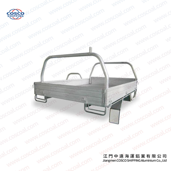 Aluminium tipper trailer for pickup truck