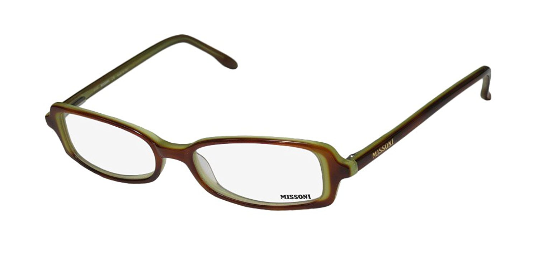 6fafd671b4 Get Quotations · Missoni 08804 Mens Womens Designer Full-rim Spring Hinges  Eyeglasses Eyewear
