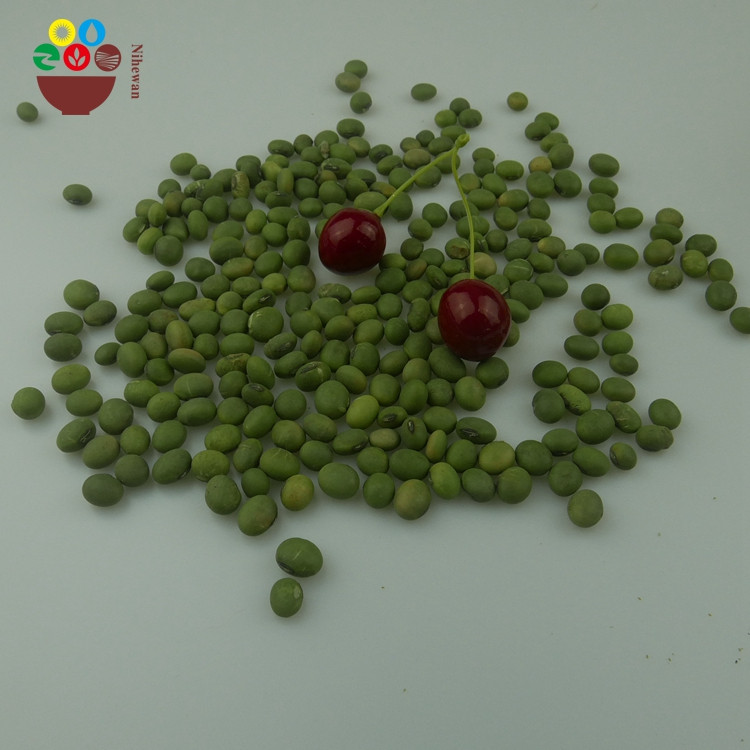Wholesale green soybean price 5-8mm HPS with good manufacture