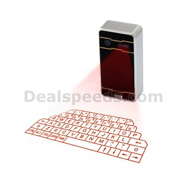 AOLUGUYA Bluetooth Virtual Laser Keyboard Touchpad for iPhone for ipad