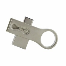 Wholesales Custom Swivel Metal material USB Flash Drive promotional 3.0 Type c USB Flash Drive