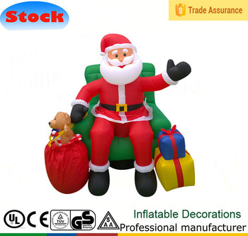5ft Outdoor Inflatable Christmas Grinch For Sale Santa Claus Gift Inflatable  Christmas Decorations