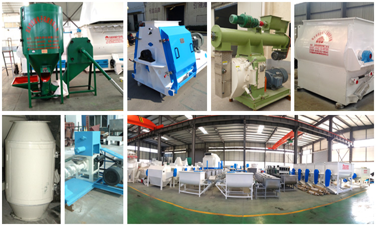 HNHF high quality China manufacturer poultry feed crusher mixer