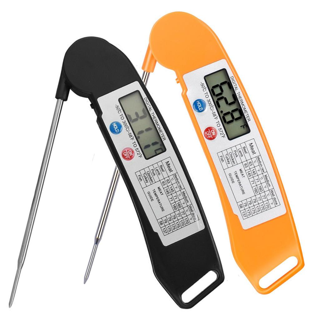 Instant read food cooking meat thermometer kitchen digital hot water thermometer