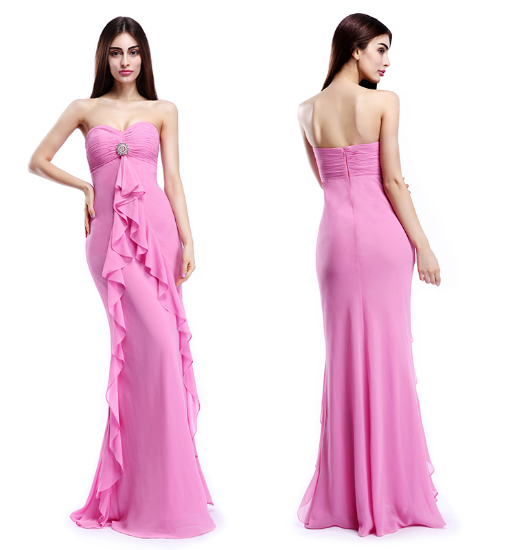 China Oem Wholesale 2015 Latest Western Design Long Dress Ladies ...