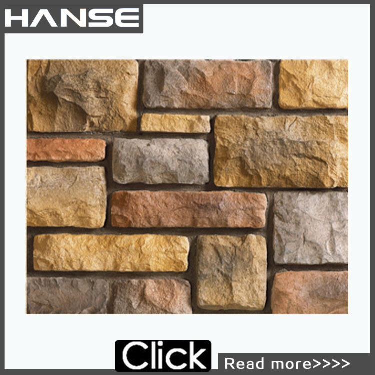 HS-TM45 artificial stone wall/artificial interior wall stone decoration