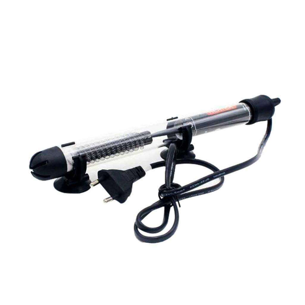 Lywey 25/50/100/200/300W Submersible Heater Heating Rod Aquarium Glass Fish Tank Auto Constant Temperature (For 20~34℃) (300W)